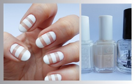 Manicure krok po kroku: Negative space