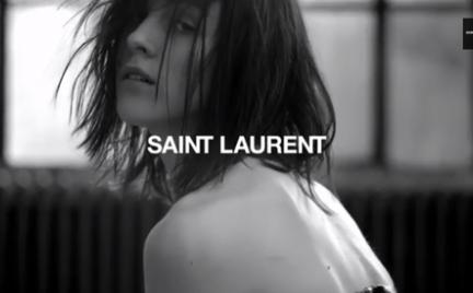 Pierwszy film Hedi Slimane dla domu mody Saint Laurent