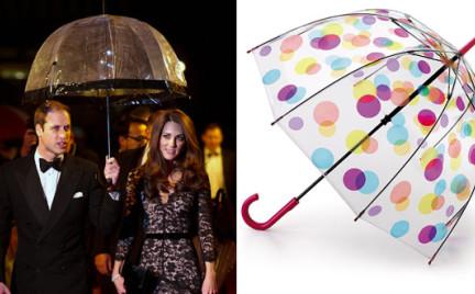 Fulton Umbrellas: ulubiona parasolka brytyjskiej rodziny królewskiej