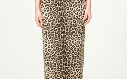 Z czym to nosić: spódnica Zara