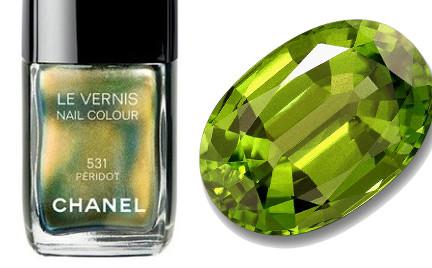 Zamienniki kosmetyczne: lakiery do paznokci w kolorze perydotu