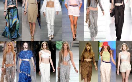 Trendy na wiosnę lato 2011: krótki top