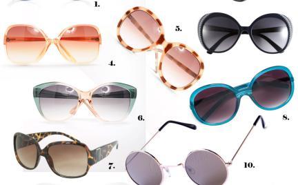Kupujemy: okulary przeciwsłoneczne