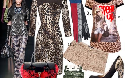 Moda z wybiegów: dzika egzotyka