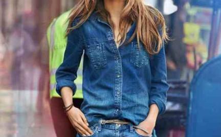 Trudny trend: dżins plus dżins