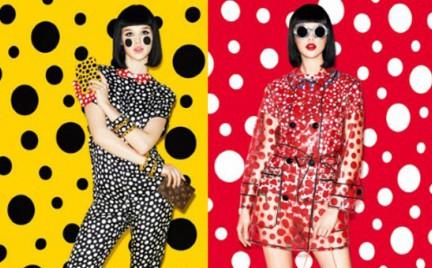 Wielka moda: kolekcja Yayoi Kusama dla Louis Vuitton
