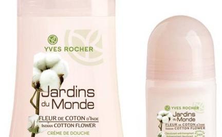 Kwiat bawełny z Indii Jardins du Monde Yves Rocher