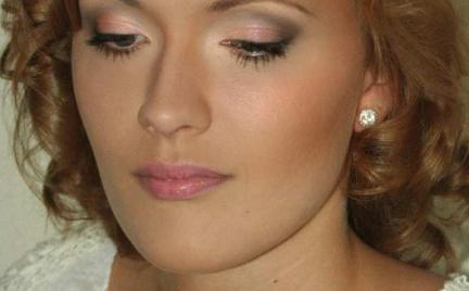Makijaż 183 - ślubny dla jasnowłosej