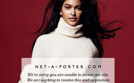 Paraliż Net-A-Porter czyli szaleństwo wyprzedaży rozpoczęte